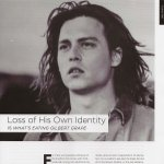 Loss of His Own Identity by Cerian Griffiths